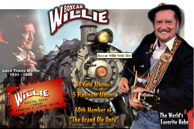 Country Music Legend Boxcar Willie